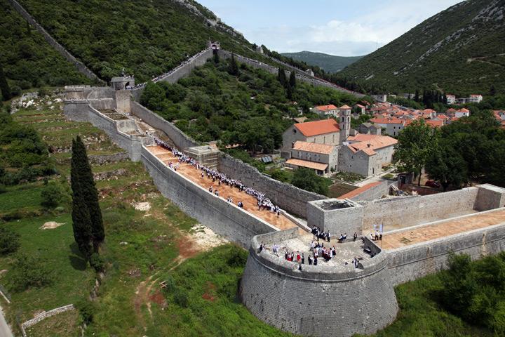 Ston Kroatien